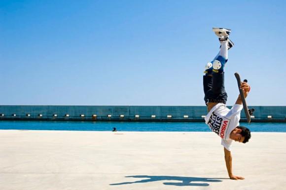 Freestyle Skateboard