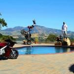 Motorbike freestyler