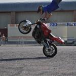 Motorbike acrobatics Rider