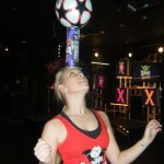 Female Football Freestyler - Product Promotions