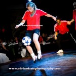 Female Football Tricks