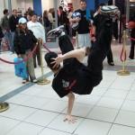 Breakdancers at Footlocker Store Opening