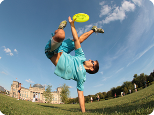 Frisbee Entertainers