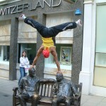 Street Parkour Acrobats