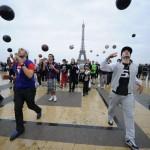 Freestyle Football Flash mob
