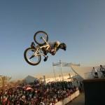 BMX Half Ramp Show