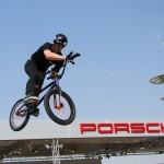 BMX Jumper at Porsche Car Launch