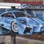 Car Promotions- Graffiti