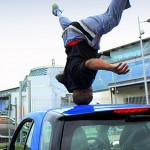 Head spinning On Car