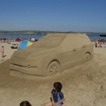 Interactive Sand Sculpting Promotion