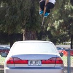 Pogo Stick Stunt Jumping