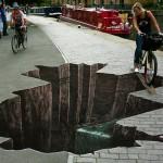 3D street artwork