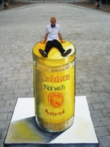 3D street art branded products