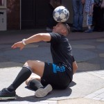 European Football Freestyle trickster