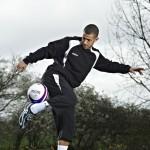 Football freestyle Photoshoot