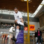 Football freestyler London