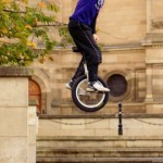 Extreme unicyclist