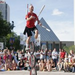 Street Performer unicyclist