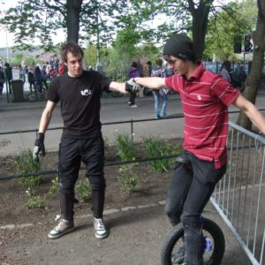 Unicycle Workshops for events