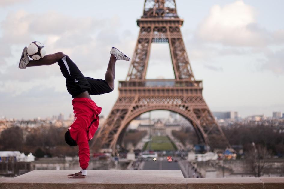 Paris Freestyle Footballer