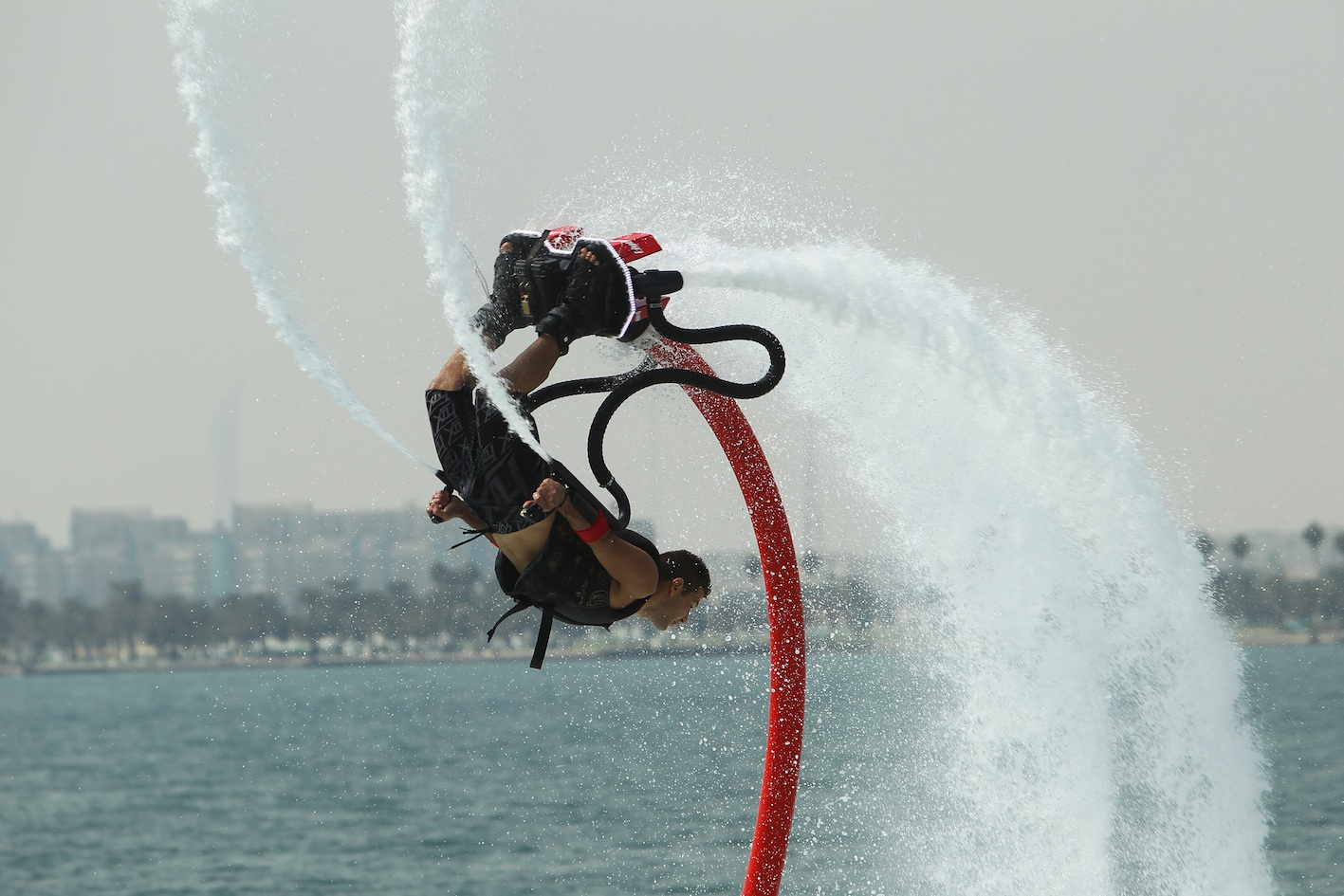Flyboard Water Show Performer