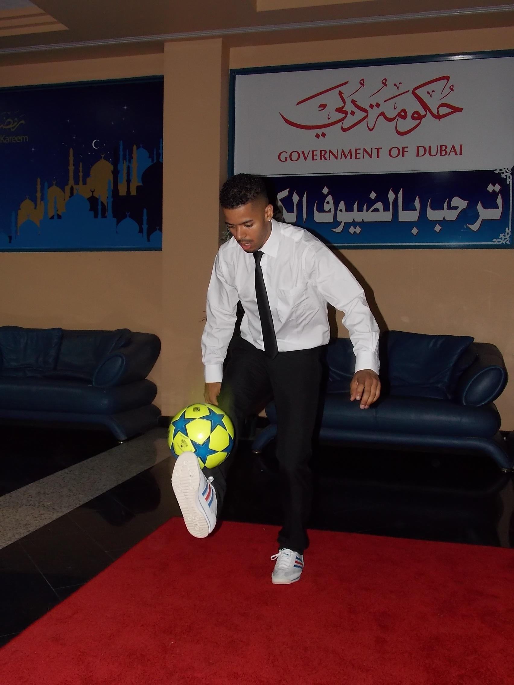 Freestyle football entertainer