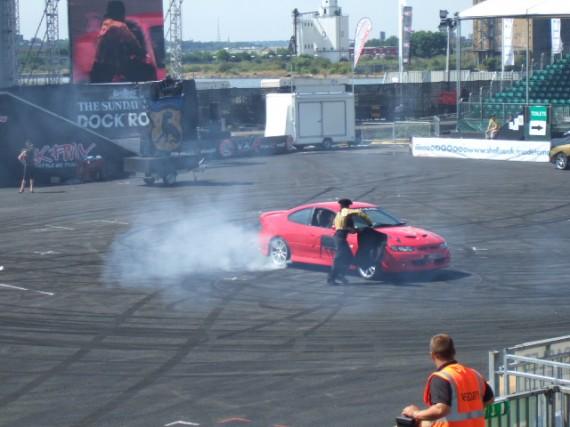 Car Stunt performer
