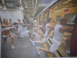 Fitness Flash Mob
