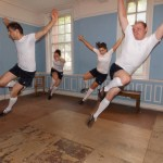 Flying Tap dancers in Football boots