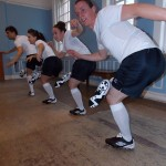 Football Boot tap dance group-