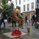 Human Statue in Covent Garden