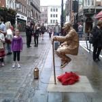 Human Statues London
