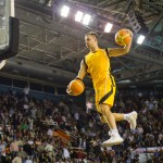 Incredible Basketball dunking competition