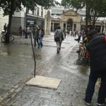 London Covent Garden Statue