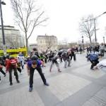 Plaza - Frestyle football flash mob