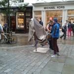 Street Human Statue London