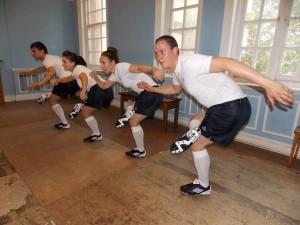Tap dance Football Boot Show