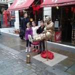 UK living statues