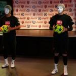 Masked Football Freestylers