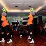 Freestyle Footballers - Head balancing