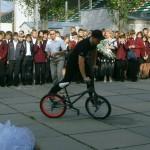 Display BMX rider