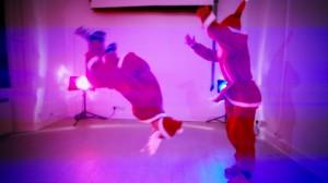 Back Flipping Santa Christmas Show-UK