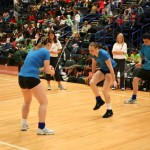 Female Skipping Fitness Show