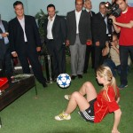 Female football Entertainer - Corporate Events