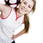 Female football trickster-Photoshoot
