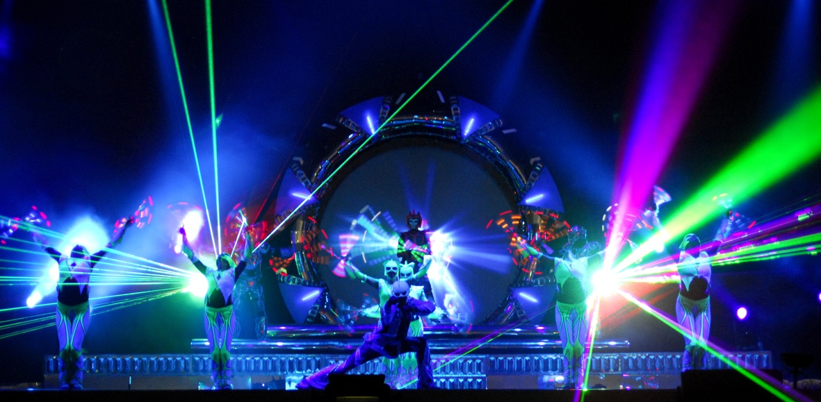 Laser Light Led Dance Show Streets United