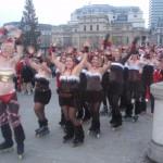 Christmas Street Flash Mob