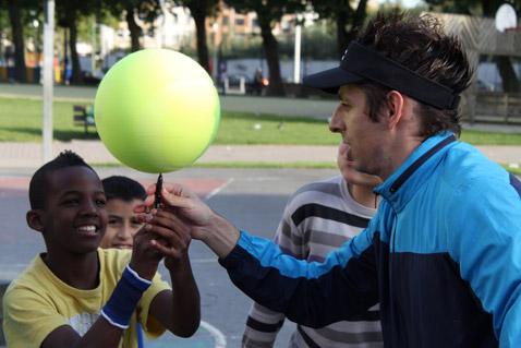 Interactive Tennis live show