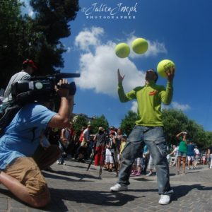 Tennis Events Entertainers
