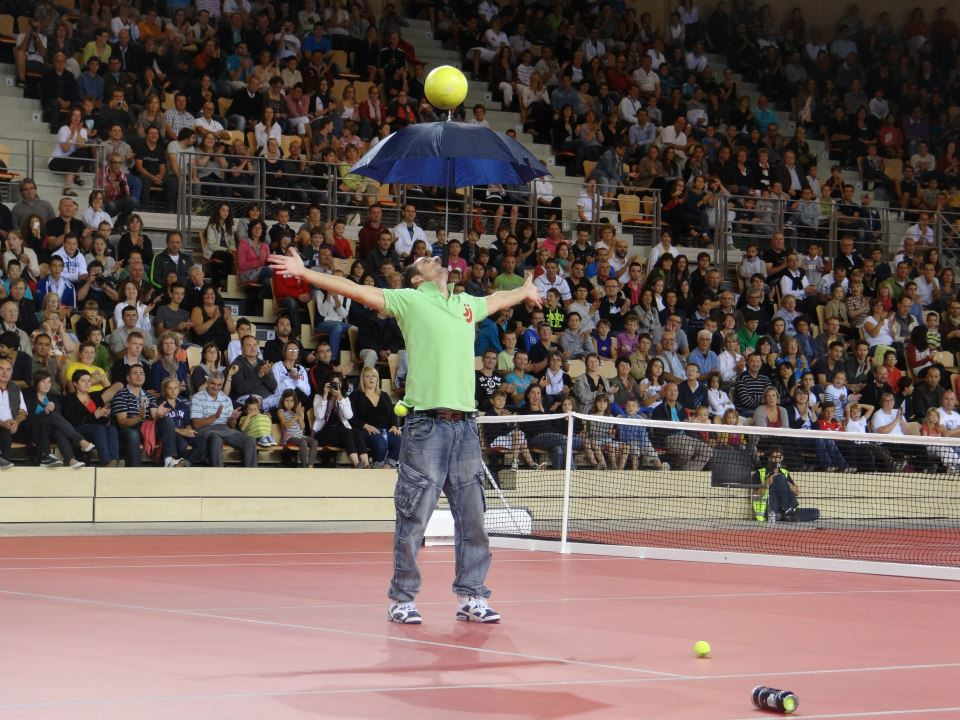 Tennis Match Entertainment Show